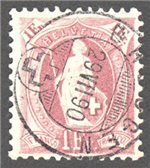 Switzerland Scott 87 Used